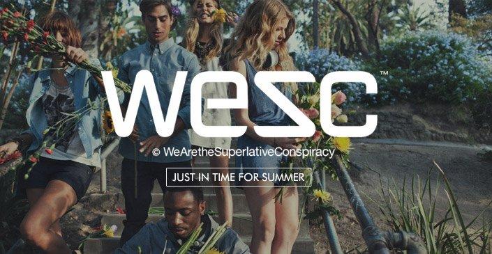 WeSC. Shop Now.