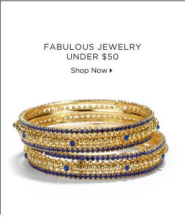 Fabulous Jewelry Under $50