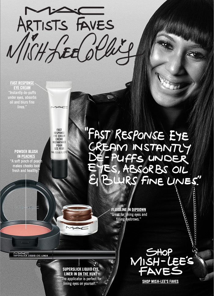 """Fast Response Eye Cream instantly de-puffs under eyes, absorbs oil and blurs fine lines."" Shop Michelle-Lee's Faves"