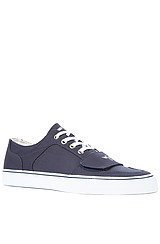 The Cesario Lo XVI Sneaker in Navy