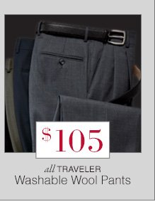$105 USD - Traveler Washable Wool Pants