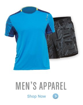 MEN'S APPAREL Shop Now »