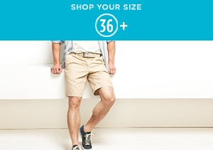 36+: Denim, Pants & Shorts