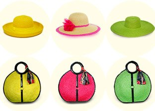 Vecceli Straw Hats and Handbags