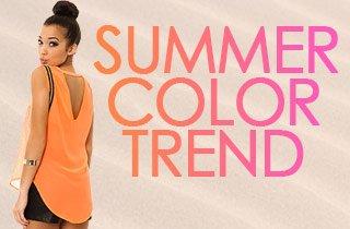 Color Trend: Pink & Orange