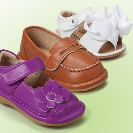 Squeaky Steps: Kids' Shoes