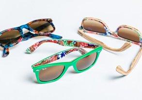 Shop New Tropical-Print Ray Bans & More