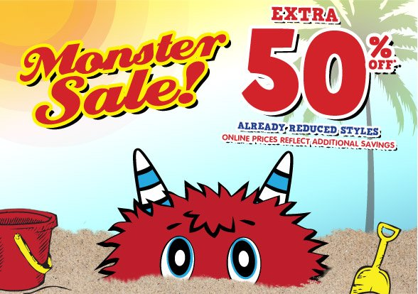 Monster Sale!