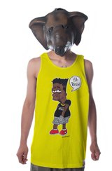 Lamar Tank in Yellow