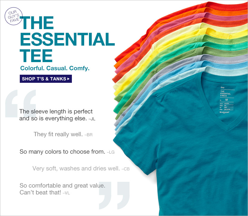 THE ESSENTIAL TEE | SHOP T'S & TANKS