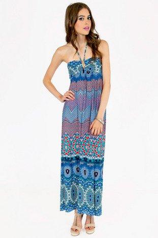PITTER PATTERN MAXI DRESS 39