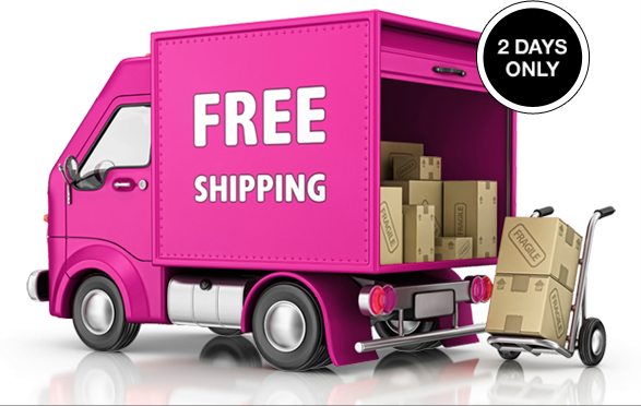 Free Shipping - 2 Days Only