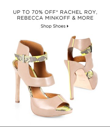 Up To 70% Off* Rebecca Minkoff, Rachel Roy & More