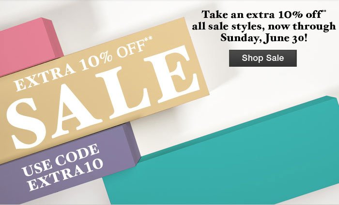 Extra 10% Off** Sale