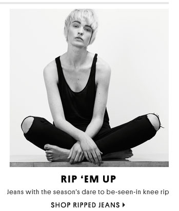 Rip' em up - Shop ripped jeans