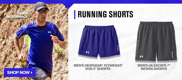 RUNNING SHORTS - SHOP NOW
