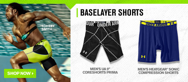 BASELAYER SHORTS - SHOP NOW