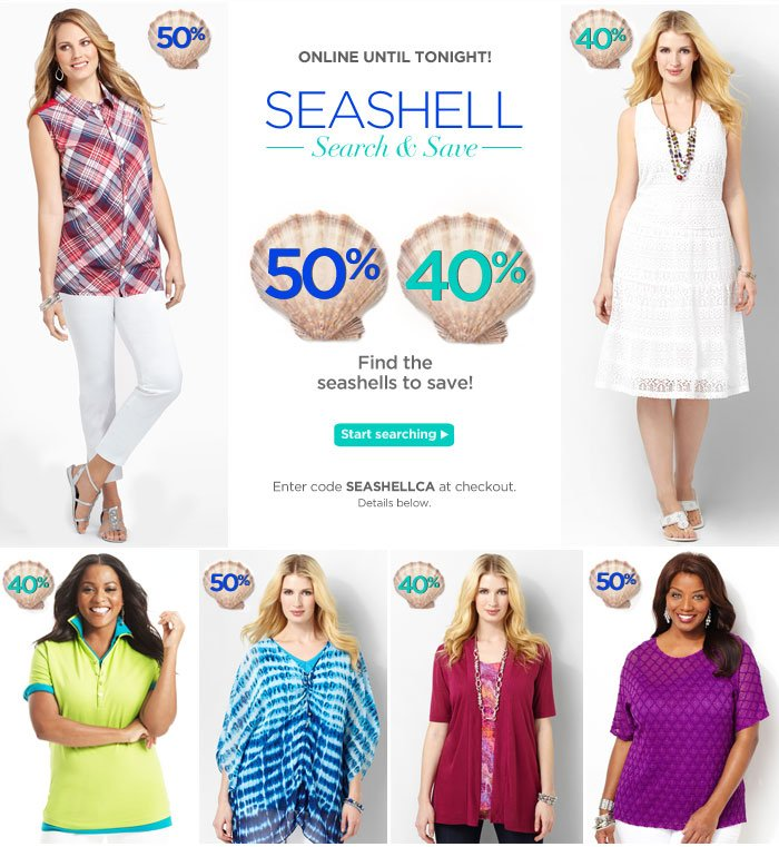 Seashell Search and Save