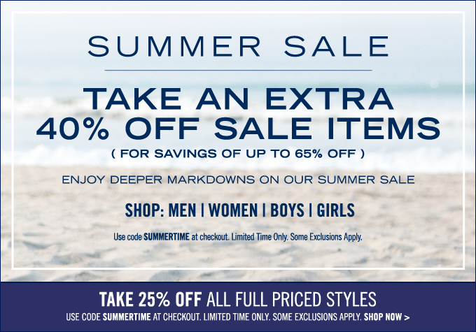 Shop the Summer Sale!