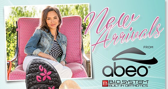 Shop the NEW ABEO B.I.O.system 'Frenzia' and 'Florette' sandals for women featuring durable Vibram® outsoles! Available in fresh new colors, B.I.O.system sandals feature a 3-D fit for the ultimate comfort. Find the best selection when you shop now at The Walking Company.