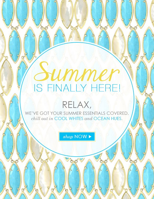 Summer Essentials from Kendra Scott
