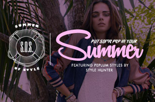 Ft. Peplum styles by Style Hunter