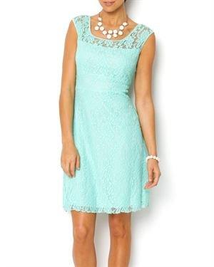 Zan Floral Lace Dress