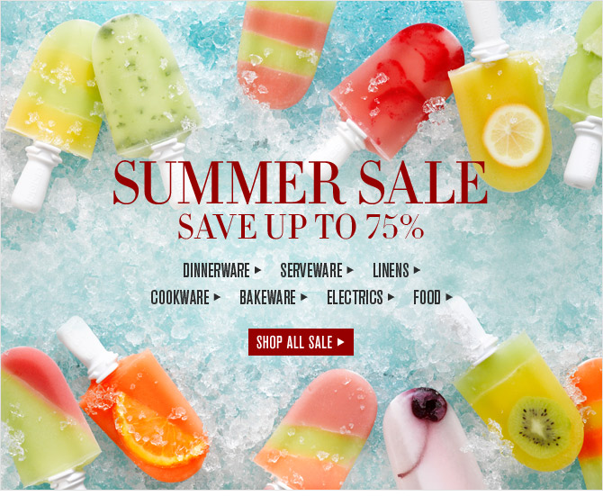 It Only Happens Once a Year SUMMER SALE - SAVE UP TO 75% -- SHOP NOW & SAVE UP TO 75%