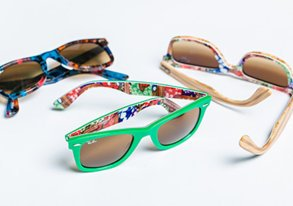 Shop New Tropical-Print Ray Bans & More