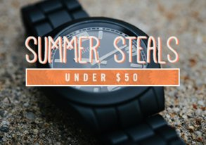 Shop Summer Steals Under $50