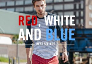 Shop Need It Now: Red, White & Blue Gear