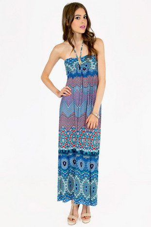 PITTER PATTERN MAXI DRESS 39