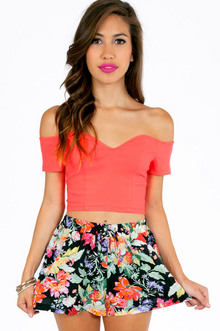 SWEETIE OFF SHOULDER CROP TOP 25