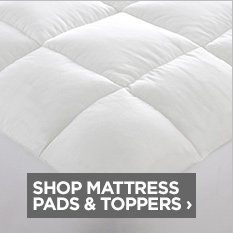 SHOP MATTRESS PADS & TOPPERS ›