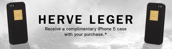 Receive a complimentary iPhone 5 case with your purchase.