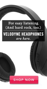Velodyne Headphones are here.