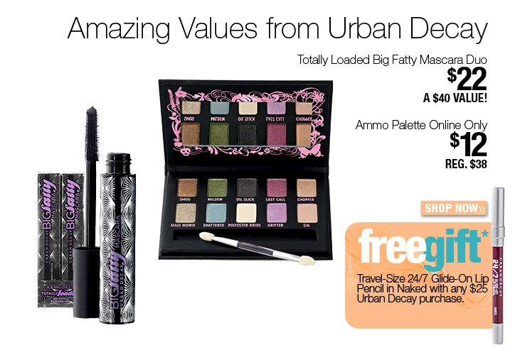 Amazing Values from Urban Decay