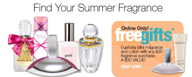 Online Only! Receive a complimentary 2pc Euphoria Mini Gift with any $30 ULTA.com fragrance purchase