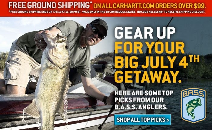Shop Carhartt.com for all your 4th of July Weekend Needs