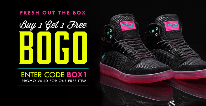 Fresh Out Of The Box: Buy 1 Get 1 Free
