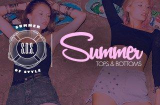 Summer Tops & Bottoms
