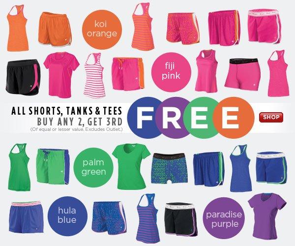 SHOP Women's Shorts, Tanks & Tees