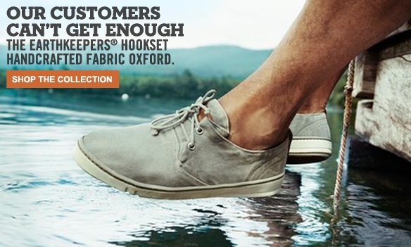 Our customers can't get enough: The Earthkeepers® Hookset Handcrafted Fabric Oxford. Shop the Collection