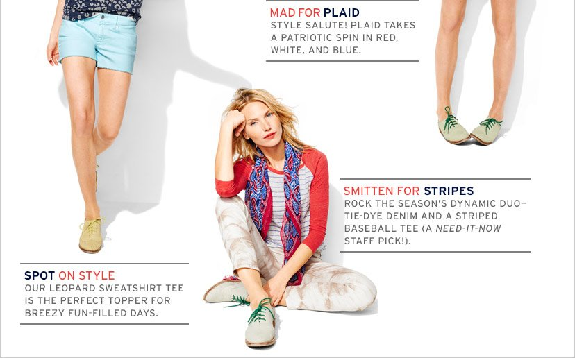MAD FOR PLAID | SPOT ON STYLE | SMITTEN FOR STRIPES