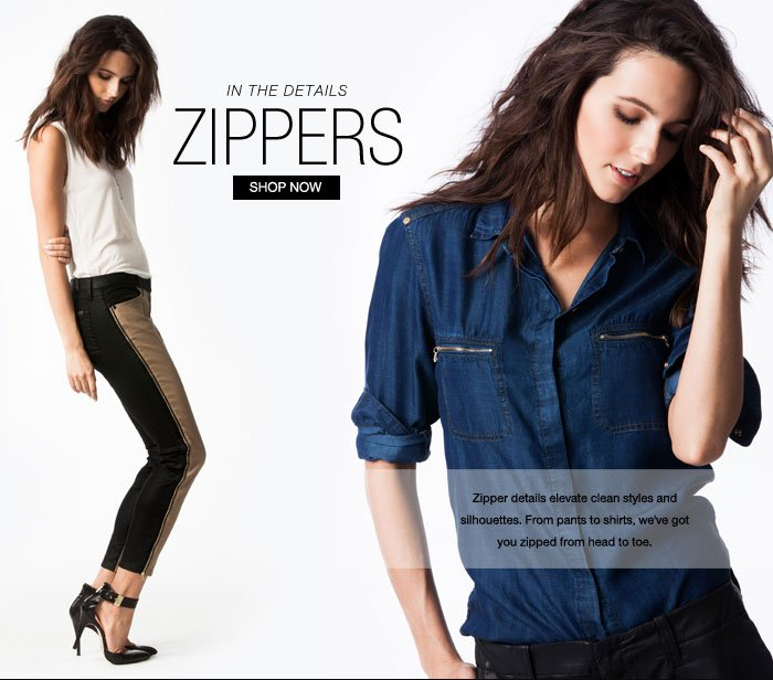 In The Details: Zippers
