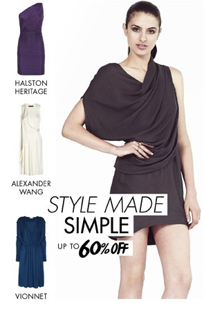 STYLE MADE SIMPLE - UP TO 60% OFF