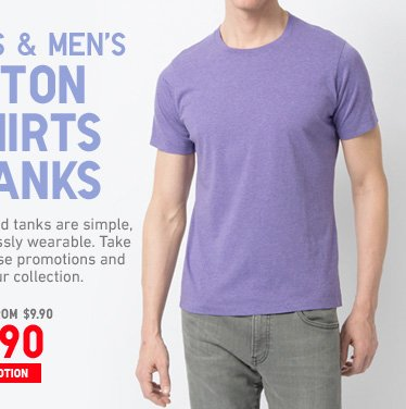 COTTON TSHIRTS MEN