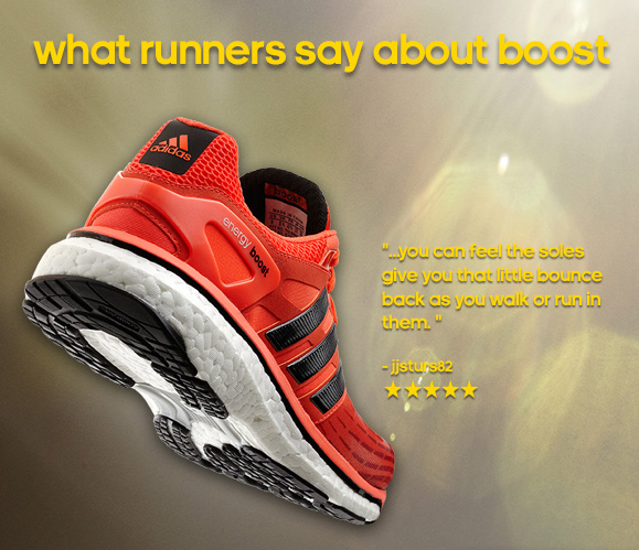 Shop Energy Boost Running Shoes »