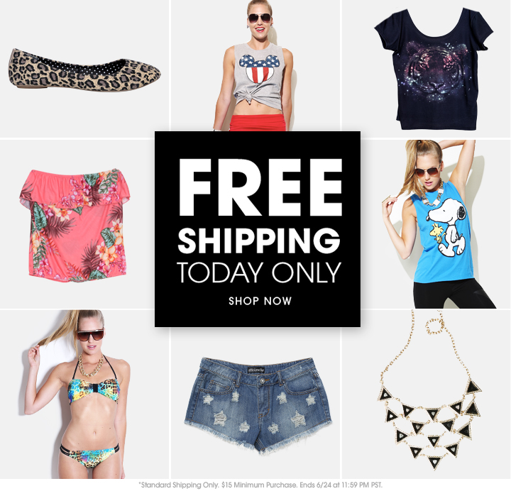 Free Shipping - Today Only - Shop Now
