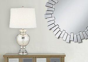 Urban Elegance: Lamps & Mirrors